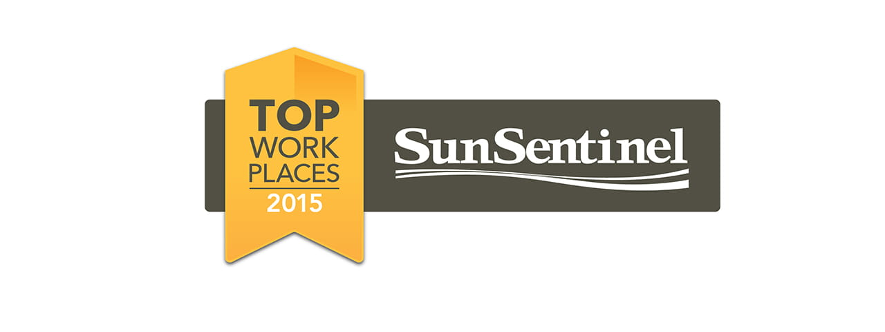 Vi at Aventura and Lakeside Village awarded 2015 Top Work Places by the Sun Sentinel