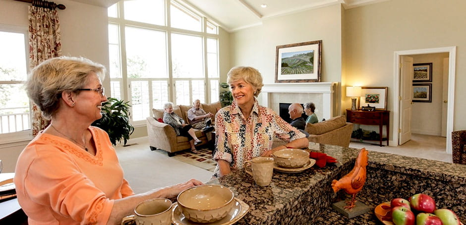 Our Meet the Residents series highlights the distinctive stories of those who call Vi home.
