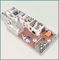 Callout for Jasmine floor plan