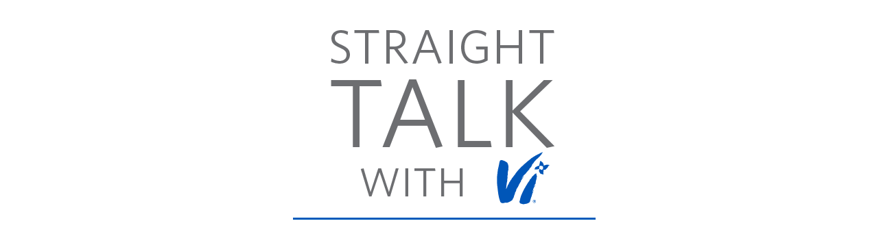 Straight Talk with Vi logo